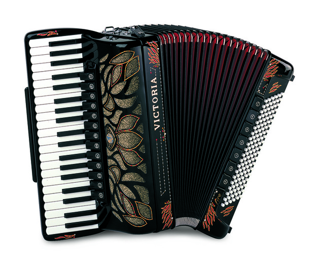 victoria piano accordion fire
